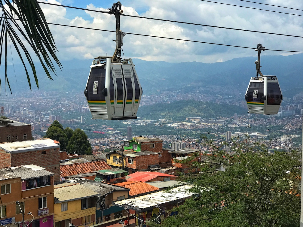 Medellin Cable Car System